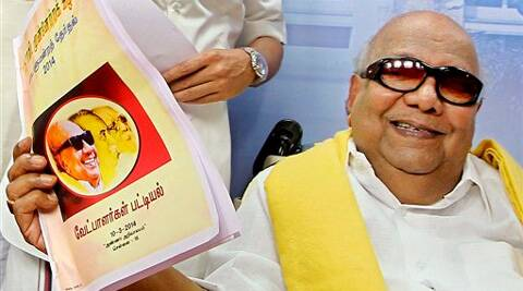 The multi-cornered electoral battle in Tamil Nadu will benefit the people, Karunanidhi said. (PTI)