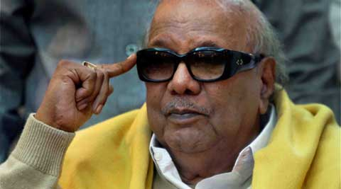 Karunanidhi condemned the Indian government for taking an inhumane decision. (Express Archive)