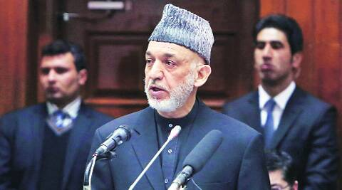 Karzai steps down after next month's presidential elections.