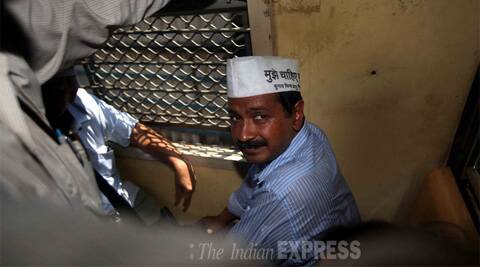 There are plenty of reminders on the Internet about Kejriwal's khaas aadmi status. (IE Photo: Pradip Das)