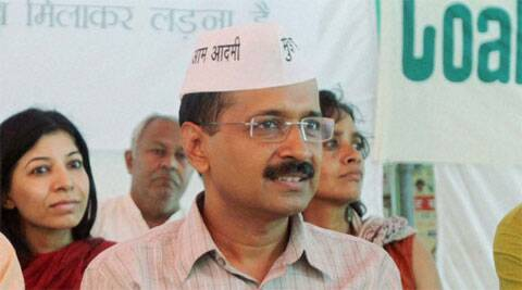 Aam Aadmi Party leader Arvind Kejriwal. (PTI)
