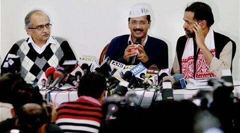 Arvind Kejriwal-led party will arrive in Surat this week. (PTI)