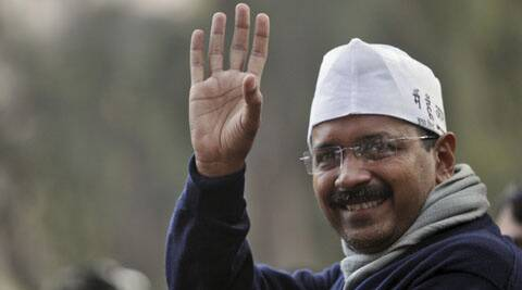 Kejriwal said that God has made Aam Aadmi Party and people should join it and help it win elections.