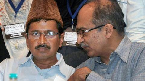 "Prashant Bhushan said AAP would support ""honest and incorruptible"" persons in the remaining seats. (PTI)"