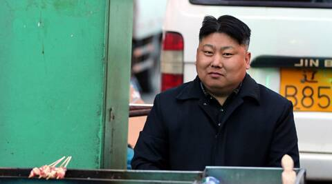 A Chinese street food vendor who resembles North Korean leader Kim Jong-Un. (Source: News.163.com)