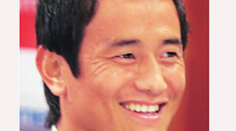 Baichung Bhutia faced the ire of TMC units in the hills for requesting Gorkha Janmukti Morcha (GJM) president Bimal Gurung to support him.