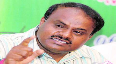 Kumaraswamy said party workers were demanding he contest from Chikkaballapur. (IE)