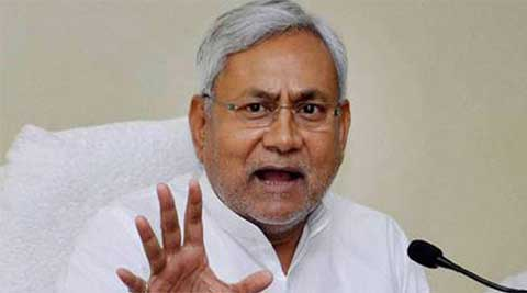 Bihar Chief Minister Nitish Kumar said they would form government at the Centre on the basis of a common minimum programme. (Reuters)