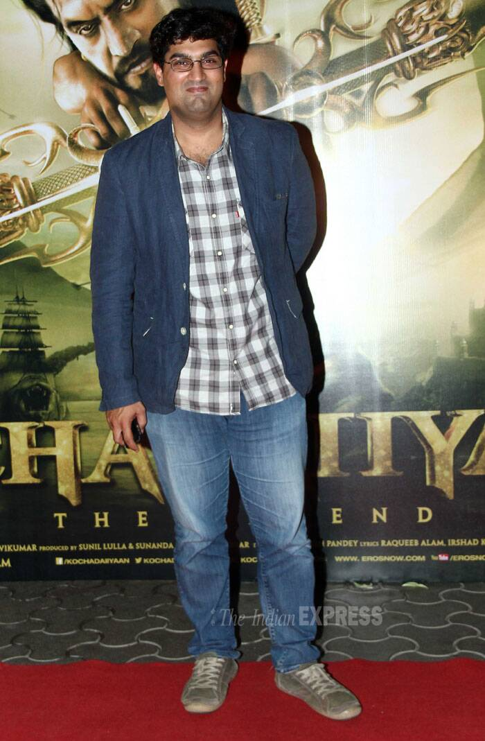 Actor Kunal Roy Kapur flashes a smile on the red carpet. (Photo: Varinder Chawla)