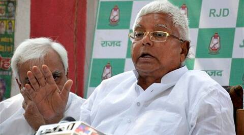 Lalu Prasad Yadav was referring to the dissatisfaction of senior BJP leaders over distribution of tickets in the party. (PTI)