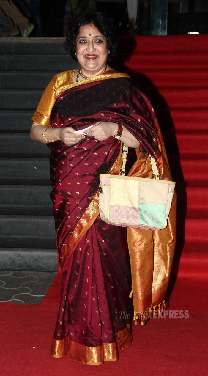 Rajinikanth's wife Latha was also present for the big night. (Photo: Varinder Chawla)