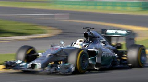 Lewis Hamilton's quickest edged out team mate Nico Rosberg by less than 0.157 seconds (Reuters)