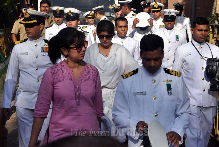 """""""He was sure that nothing will happen to him in the submarine,"""" Munwal's fiancee said, speaking to reporters. She said Kapish had once told her that he would be very proud if he died while on duty. """"He wished to die for the country while on duty so that his body will be draped in the tricolour and guard of honour will be accorded to him,"""" said Chawala."""