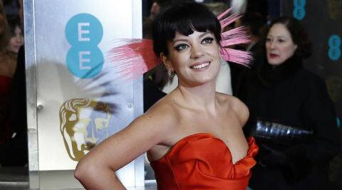 Lily Allen feels men who produced female artists always become known. (Reuters)