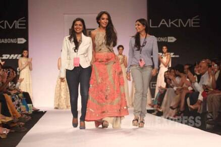 Lakme Fashion Week 2014: Lisa Haydon, Adhuna Akhtar take to the ramp