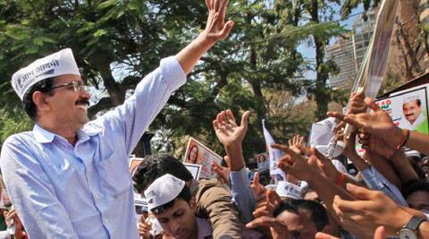 BJP workers have been asked to stay away from Kejriwal's rally venue.