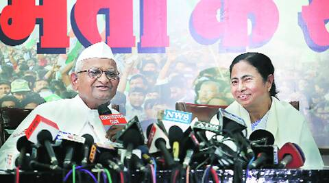 Anna Hazare recently extended support to TMC chief and West Bengal CM Mamata Banerjee.  He will address his first UP rally on March 13