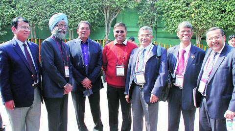 Doctors during APICON 2014.  Gurmeet Singh
