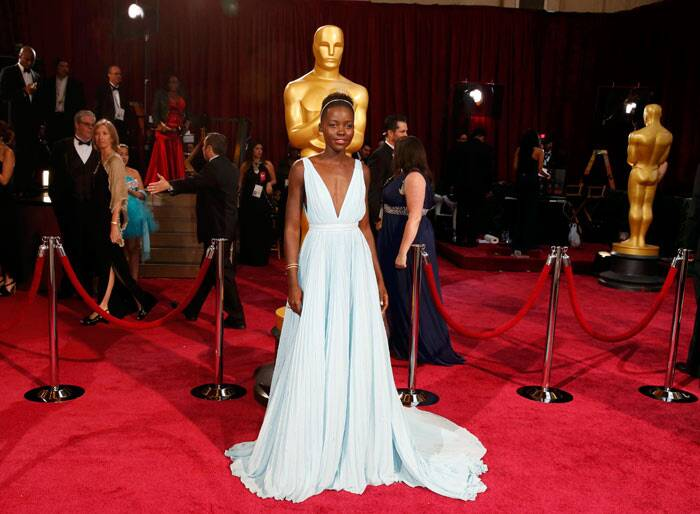 Best Actress in a Supporting Role: Lupita Nyong'o, 12 Years A Slave. (Reuters)