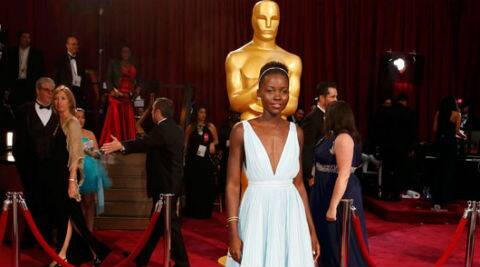 Lupita on winning an Oscar: It is overwhelming, but at the same time, this is the thing I dreamt for, it's the thing that I availed myself for. (AP Photo)