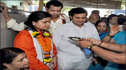 Poonam is the BJP candidate taking on the sitting Congress MP Priya Dutt from Mumbai North-West Lok Sabha constituency.