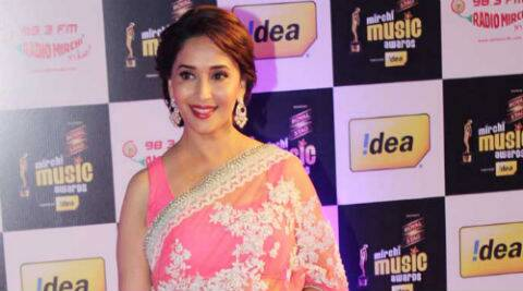 Madhuri on 'Gulaab gang': I am literally fighting here with hand to hand combat. As for the verbal dual, there is a lot of it with Juhi Chawla.