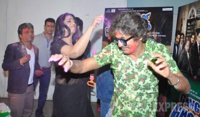 Mahie, Sharman and the Gang of Ghosts celebrate Holi