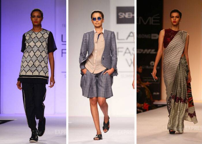 Designers Dhruv Kapoor, Pranav Mishra, Shyma Shetty and Sougat Paul showcased their collections on Day 1 of the ongoing Lakme Fashion Week Summer/Resort 2014.
