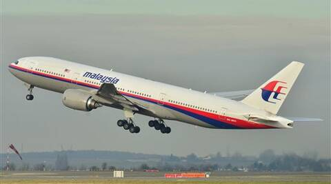 In this file photo Malaysia Airlines Boeing 777-200ER that disappeared from air traffic control screens Saturday, taking off from Roissy-Charles de Gaulle Airport in France. (AP)