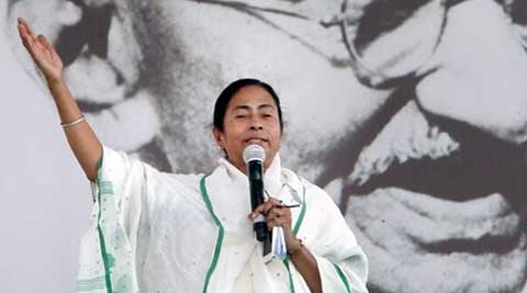 West Bengal Chief Minister Mamata Banerjee defied EC orders saying she won't transfer officers. (PTI Photo)