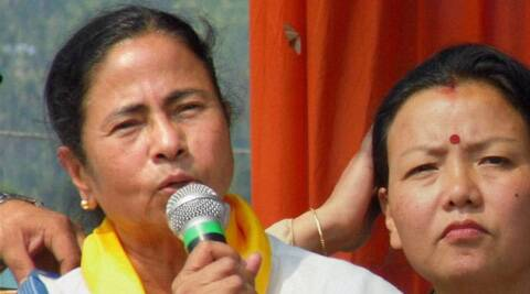 Mamata said the people should not vote for the BJP, Congress or the CPI(M) which she claimed had joined hands against the Trinamool Congress.  PTI