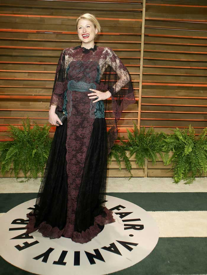 Actress Mamie Gummer leads the worst dressed brigade. (AP)