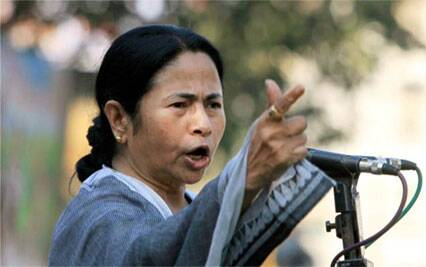 "Mamata also blamed the Congress for the BJP's ascent to power and claimed that only TMC can emerge as the "" anti- communal"" force in country. ( Source: PTI)"