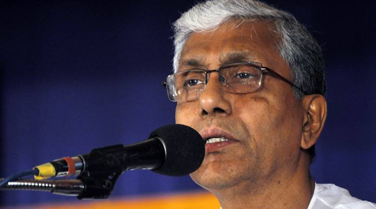 Ousted Tripura CM Manik Sarkar to live in a CPM office room