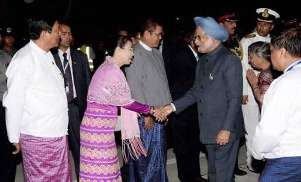 PM returns home after Myanmar visit