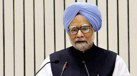 Manmohan Singh. (IE Photo)
