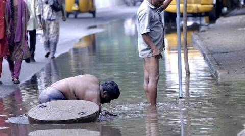 Nearly 70 years of glorious Independence later it is shameful that we are still discussing manual scavenging. (PTI)