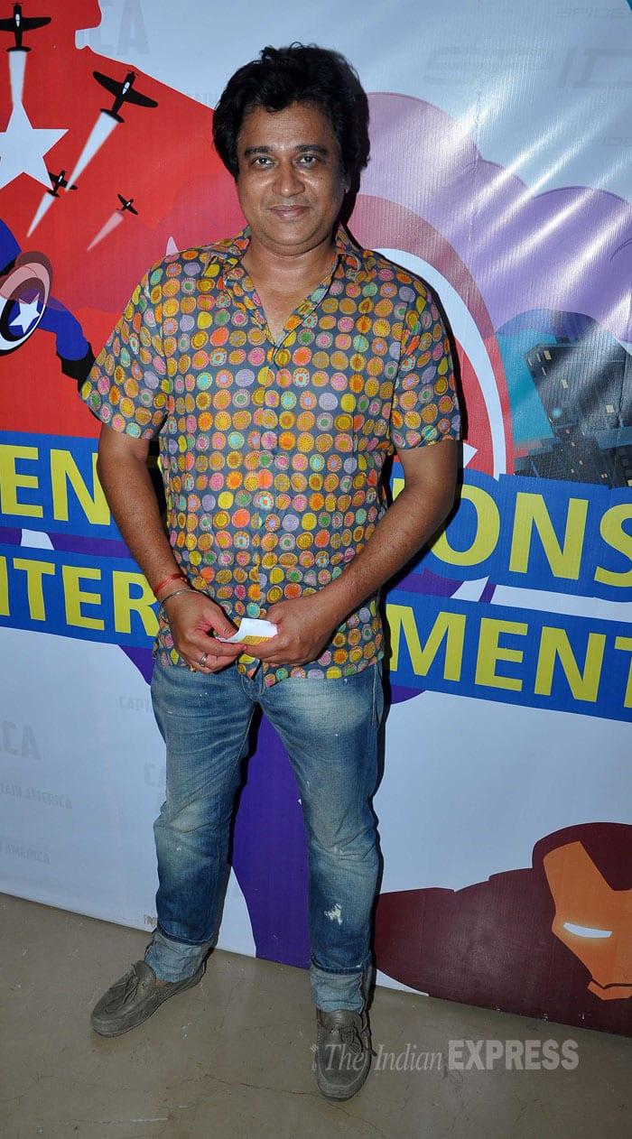 Actor and lyricist Manu Rishi who was last seen in 'Ekk Deewana Tha' strikes a pose. (Photo: Varinder Chawla)