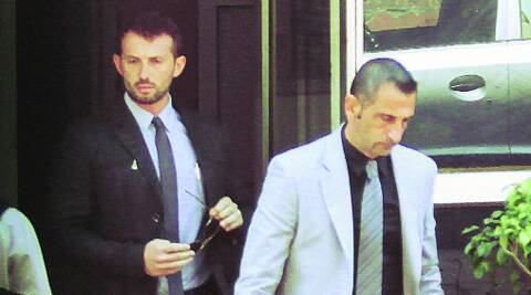 Massimiliano Latorre and Salvatore Girone.