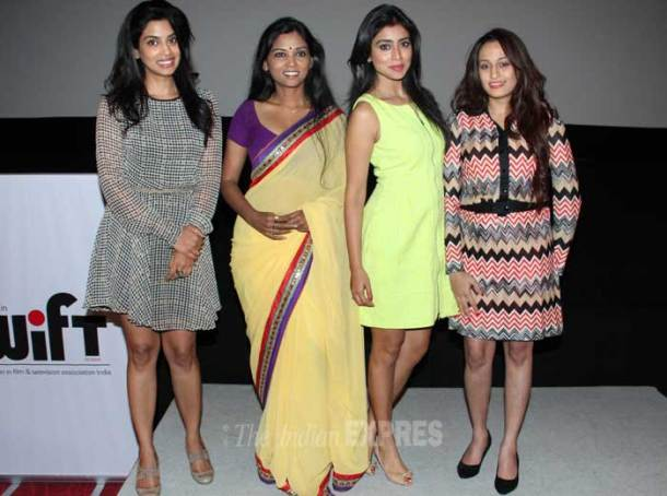 Girls get together: Shriya, Shweta
