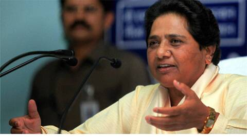 Mayawati said that she has already gone with the saffron party in the state and would not do it again as there had been no change in its ideology.