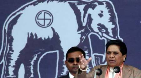 Mayawati's BSP seems to have generated more curiosity for the voters. (Express Archive)