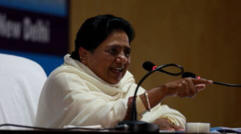Mayawati said that the Samajwadi Party has a tacit understanding with the BJP. (Express Archive)