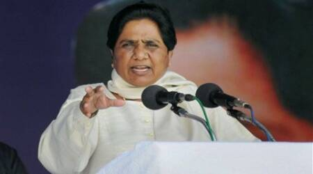 Mayawati also attacked Congress for failing to bring the black money stashed abroad back.