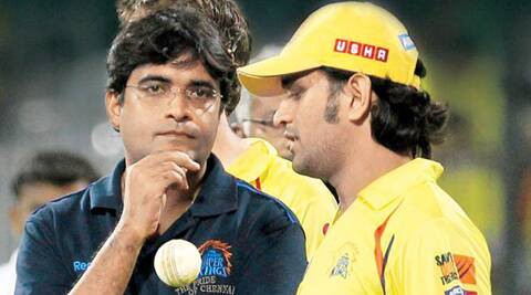 "India skipper MS Dhoni had claimed Meiyappan was just a ""cricket enthusiast"" supporting the team. (File)"