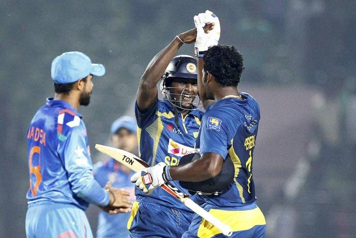 The win helped Sri Lanka jump to the top of table in the five-nation continental tournament (AP)