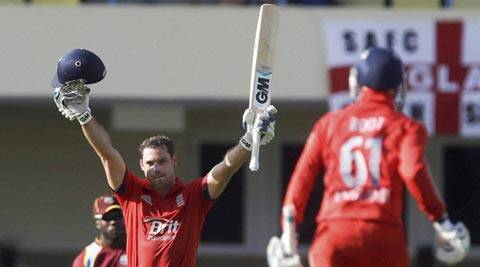 Michael Lumb scored a hundred on ODI debut (AP)