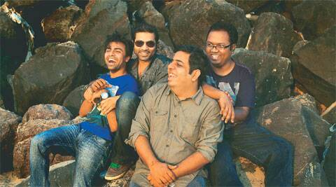 (Left) The Viral Fever team in Mumbai
