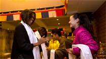 Michelle Obama generates Internet comment after Tibetan lunch