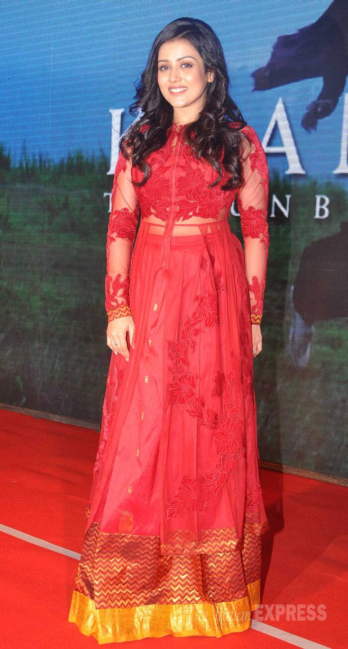 Newcomer Mishti, who plays the lead in Kaanchi, was red hot in a long kurta/skirt by  Neeta Lulla.  (Photo: Varinder Chawla)